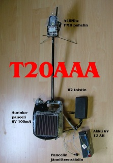 R2 Repeater 446Mhz